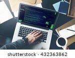 php programming html coding... | Shutterstock . vector #432363862