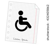 web icon. disabled | Shutterstock .eps vector #432405862