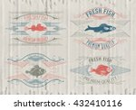 Typographical Set Of Fish  ...