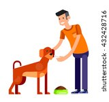 vector detailed character... | Shutterstock .eps vector #432428716