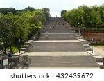 potemkin stairs in odessa ... | Shutterstock . vector #432439672
