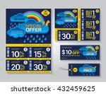 vector flyer  brochure ... | Shutterstock .eps vector #432459625