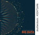 big data visualization.... | Shutterstock .eps vector #432471646