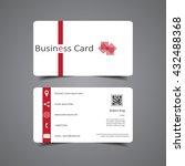 business card | Shutterstock .eps vector #432488368
