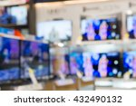 blurred photo of eletronic... | Shutterstock . vector #432490132