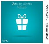 gift box      vector icon | Shutterstock .eps vector #432496222