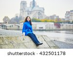 beautiful young tourist in... | Shutterstock . vector #432501178