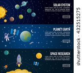 colored space universe banner... | Shutterstock .eps vector #432515275