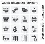 water treatment system and... | Shutterstock .eps vector #432526585
