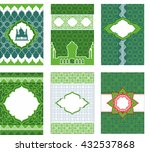 leaflets  booklets  banners in...   Shutterstock .eps vector #432537868