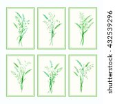 vector design template. meadow... | Shutterstock .eps vector #432539296