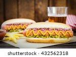 homemade hot dogs   Shutterstock . vector #432562318