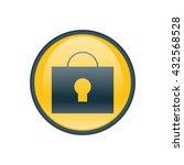 vector illustration of lock icon