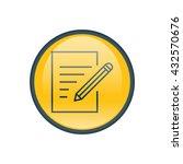 vector illustration of document ...