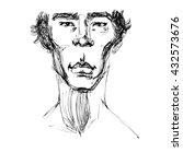 intrier coffee shops  sketch... | Shutterstock . vector #432573676
