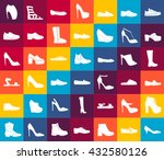set with different types of... | Shutterstock .eps vector #432580126