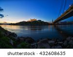the ancient castle in... | Shutterstock . vector #432608635