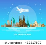 high quality  detailed most... | Shutterstock .eps vector #432617572