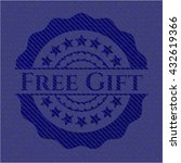free gift with jean texture