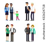 detailed character people... | Shutterstock .eps vector #432624718