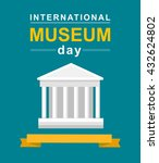 international museum day poster.... | Shutterstock .eps vector #432624802