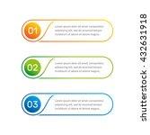 vector web template. layout... | Shutterstock .eps vector #432631918