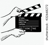 vector illustration of film... | Shutterstock .eps vector #432668272
