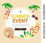 summer illustration  | Shutterstock .eps vector #432684466