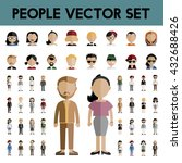 diversity community people flat ... | Shutterstock .eps vector #432688426