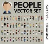 diversity community people flat ... | Shutterstock .eps vector #432711292