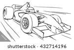 child's funny cartoon formula... | Shutterstock .eps vector #432714196