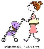 illustration material  parent... | Shutterstock .eps vector #432715795