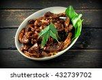 Deer Meat In Black Soya Sauce....