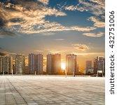 shenzhen modern architecture in ... | Shutterstock . vector #432751006