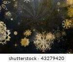 christmas background with space ... | Shutterstock . vector #43279420