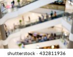 abstract blurred of shopping... | Shutterstock . vector #432811936