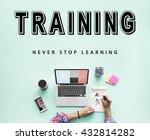skills practice learning study... | Shutterstock . vector #432814282