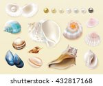 gorgeous colorful collection of ... | Shutterstock .eps vector #432817168