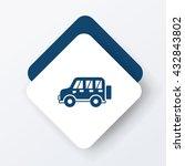 car icon | Shutterstock .eps vector #432843802