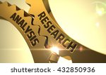 research and analysis   concept.... | Shutterstock . vector #432850936