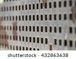 urban metal surface   Shutterstock . vector #432863638