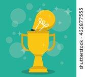 achievement design. success... | Shutterstock .eps vector #432877555