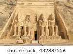Great Temple Of Abu Simbel In...