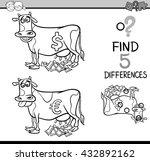 black and white cartoon... | Shutterstock .eps vector #432892162