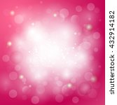 Pink Abstract Background With...