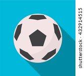 soccer ball icon | Shutterstock .eps vector #432914515
