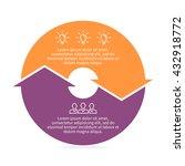 circular infographic. pie chart ... | Shutterstock .eps vector #432918772