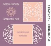 diy laser cutting vector... | Shutterstock .eps vector #432919858