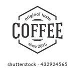 coffee shop badge icon image...   Shutterstock .eps vector #432924565