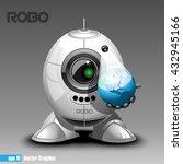 Silver Robo Eyeborg Projecting...